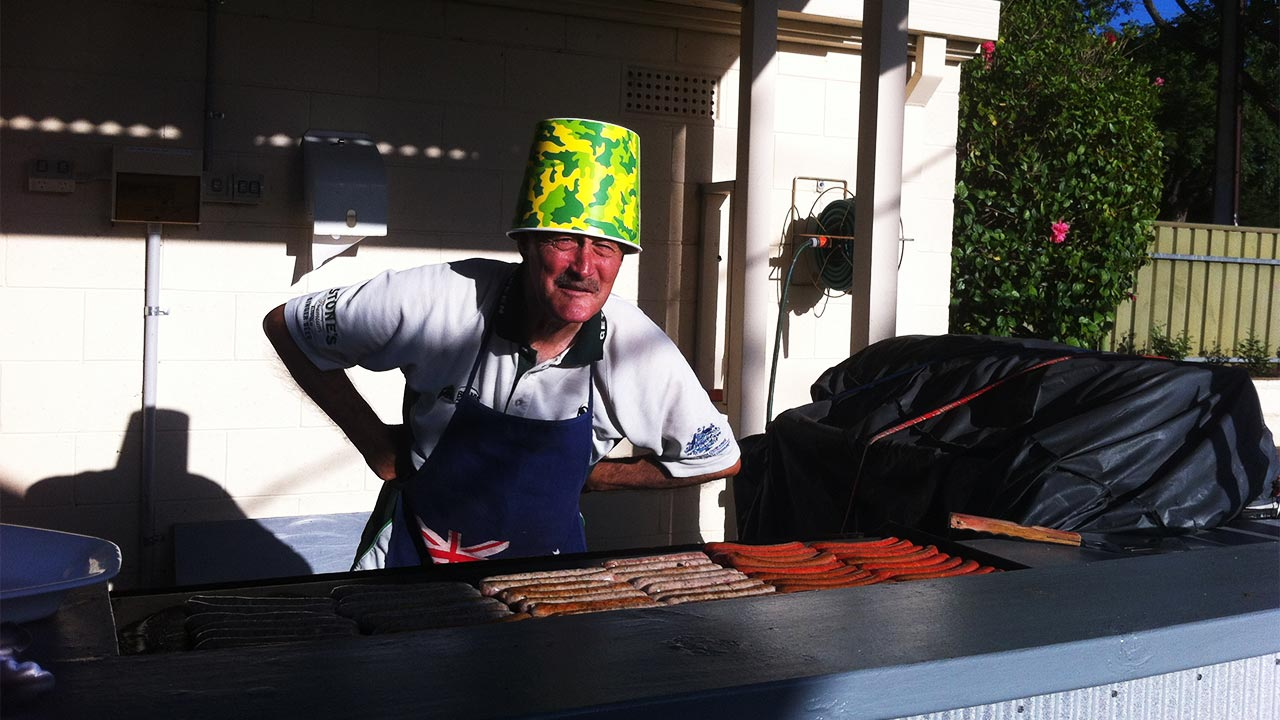 BBQ Chef Ian Brereton
