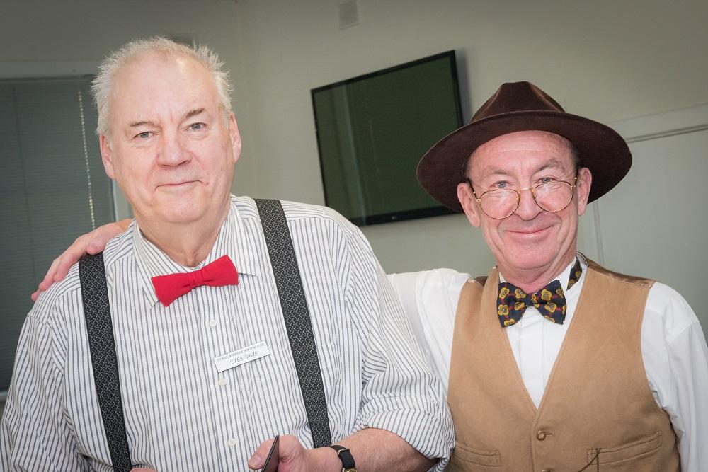 Peter Davis and Michael Dwyer